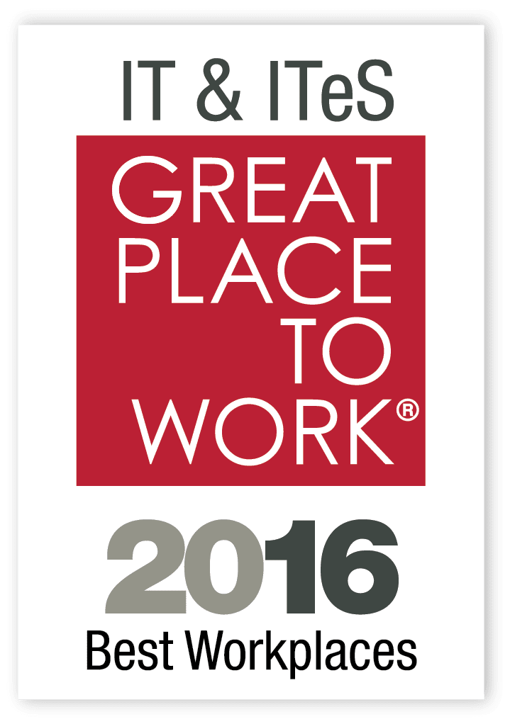 Great Place To Work 2016 IT & ITES