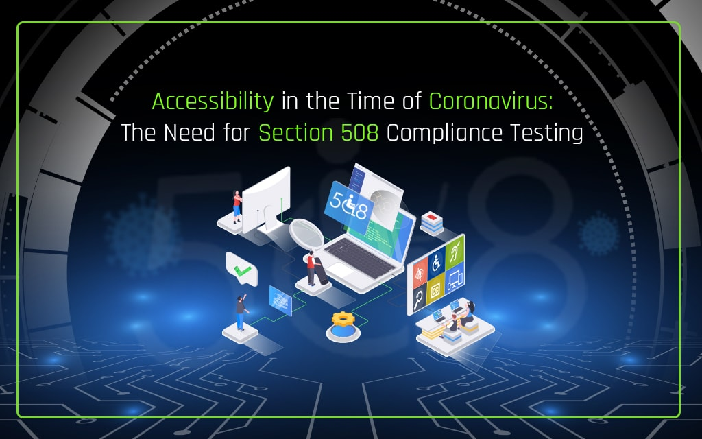 Need for Section 508 Compliance Testing
