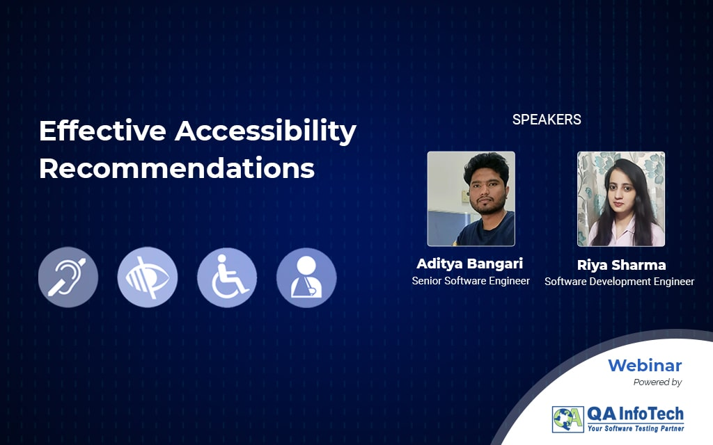 Accessibility Recommendation and Remediations